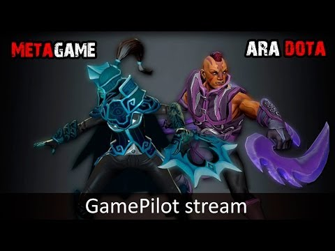 MetaGame + Ara Dota GamePilot Stream 20.02 часть 2