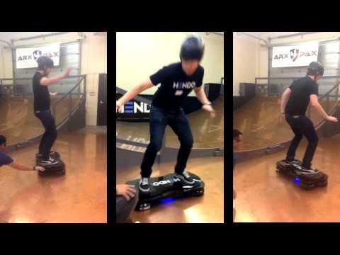 超屌!《回到未來》懸浮滑板真正實現!
