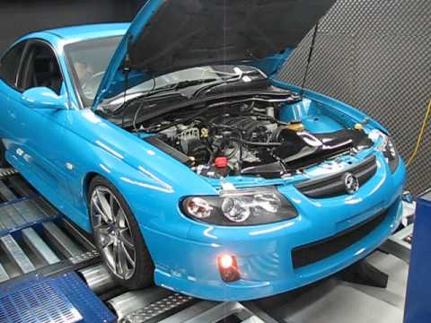 Cv8 Monaro On Dyno After Heads And Cam !!!