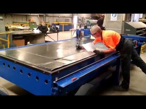 Lockformer Vulcan plasma table upgrade 10/28/14 WODONGA AUSTRALIA