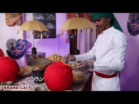 PANI PURI COUNTER IN CHAT THEME SET UP