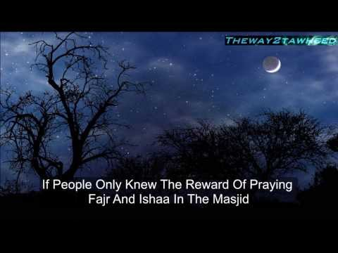 Importance of praying fajr and isha in jama'ah ᴴᴰ _ Powerful Reminder