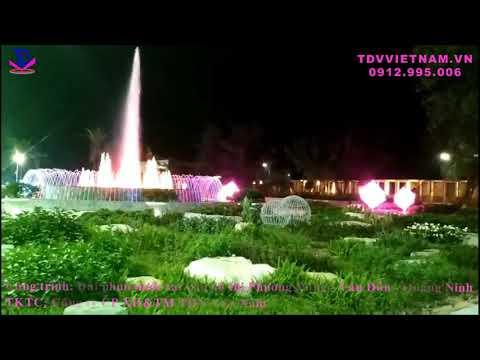 Đài phun nước khu đô thị Phương Đông - Vân Đồn - Quảng Ninh