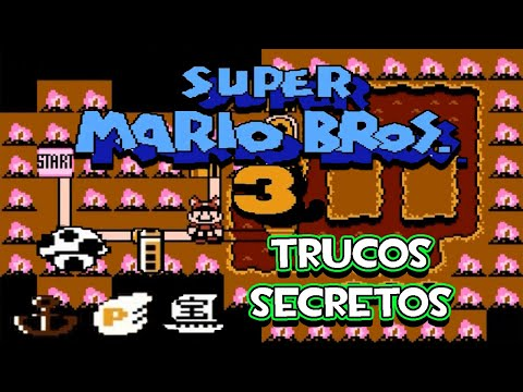 Nes Super Mario Bros 3 - Trucos Secretos