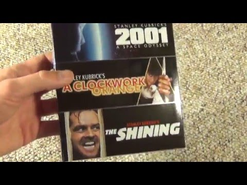 2001 A Space Odyssey The Shining A Clockwork Orange Blu-Ray 3 Film Unboxing