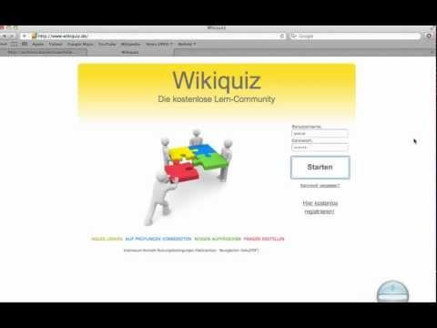 Für den Führerschein lernen mit Wikiquiz - Ein Tutorial zum Einstieg