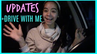 Updates + Drive With Mom & Me!