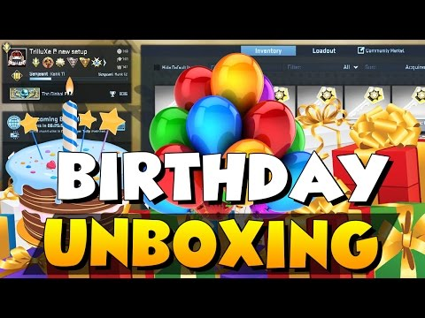 songs in cs go birthday case unboxing 2016 youtube phwm4awbo5c