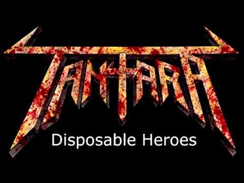 Tantara - Disposable Heroes (Metallica cover) [HQ] online metal music video by TANTARA