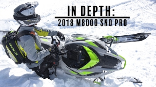 3. IN DEPTH: 2018 Arctic Cat M8000 Sno Pro