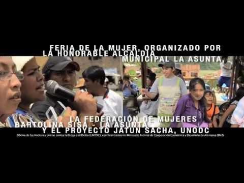 COPOLAD - Proyectos de desarrollo alternativo con enfoque de género. Vídeo 2