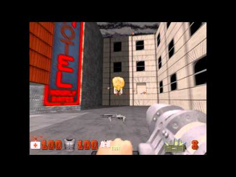 preview-Let\'s Play Duke Nukem 3D! - 025 - Shrapnel City - Stage 8: Hotel Hell (ctye85)