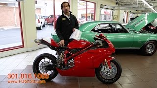 9. 2006 Ducati 999R for sale with test drive, driving sounds, and walk through video