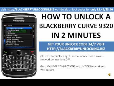 comment trouver mep blackberry 9320