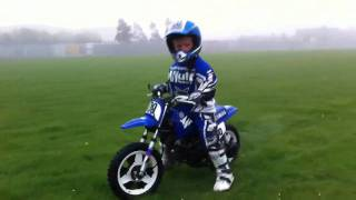 10. Jack First Go On His Yamaha Pw 50