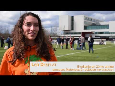 Lancement d'un ballon sonde par les étudiants de Toulouse INP-ENSIACET