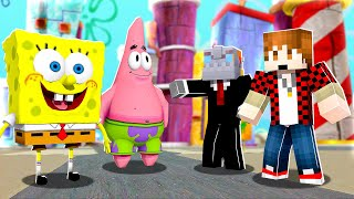 100 Players vs 2 in BIKINI BOTTOM! | Minecraft SpongeBob