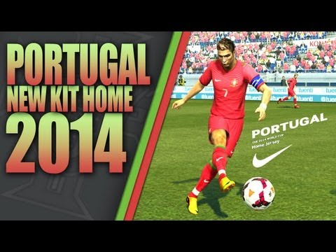 NEW KIT HOME PORTUGAL 2014 HD [PES 2013] [DESCARGA] …
