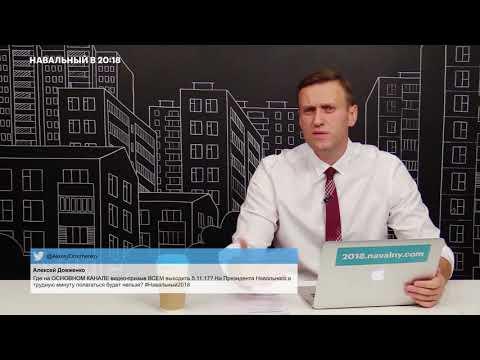 Навальный - Артподготовка и Вячеслав Мальцев сейчас под давлением власти   Новости и политика России