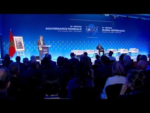 مراكش.. افتتاح أعمال الدورة الـ 12 لمؤتمر السياسة العالمية