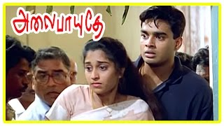 Video Alaipayuthe Scenes | Shalini's father passes away | Shalini and Madhavan fight | AR Rahman MP3, 3GP, MP4, WEBM, AVI, FLV November 2018