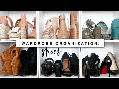 Organizing & Decluttering My Wardrobe! Storage Ideas!
