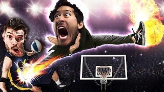 KICKED IN THE BALLS!! | Karate Basketball by Markiplier