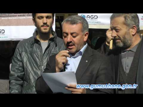 İsrail'in Mescid-i Aksa Zulmü Gümüşhane'de Kınandı