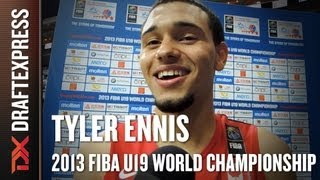Tyler Ennis Interview at the 2013 FIBA U19 World Championship in Prague