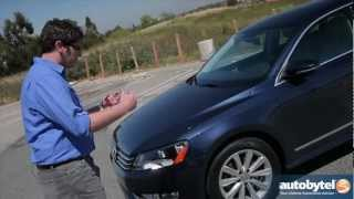 2012 Volkswagen Passat 3.6 SEL Test Drive&Car Video Review
