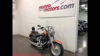 10. 2008 Harley Fat Boy 105 th Anniversary Copper Munro Motors