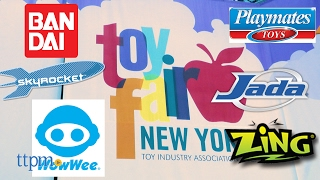 Toy Fair 2017: Skyrocket, Jada, Zing, Playmates, Bandai, WowWee and More!