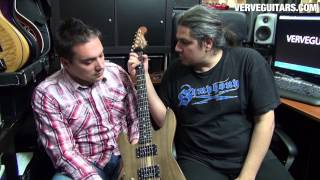 Verve Guitars - Theodore Ziras Custom Guitar Presentation