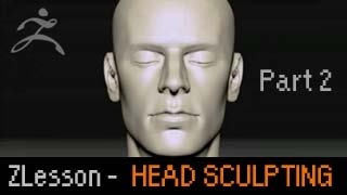 Zbrush Lesson: Head Sculpting Basics p2