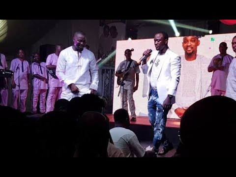 Pasuma Entertains Guest At His 50th Birthday Party As He Sings & Hails His Mentor, K1 De Ultimate