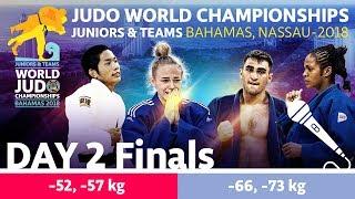 World Judo Championship Juniors 2018: Day 2 - Final Block