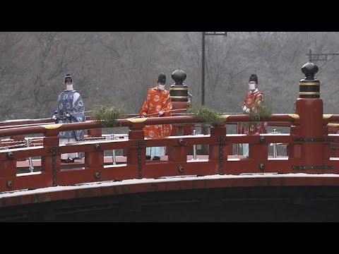 """Ιαπωνία: Καθαρισμός της """"ιερής γέφυρας"""""""