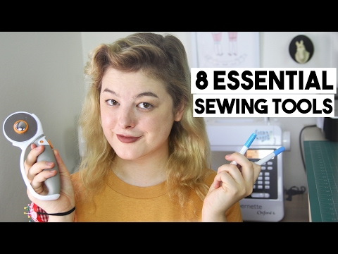 8 Sewing Essentials You Can't Live Without