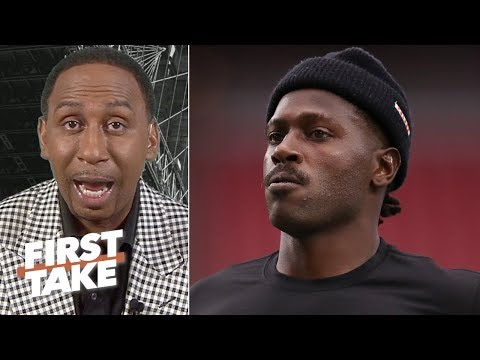 Antonio Brown has been an absolute embarrassment with his behavior  Stephen A First Take