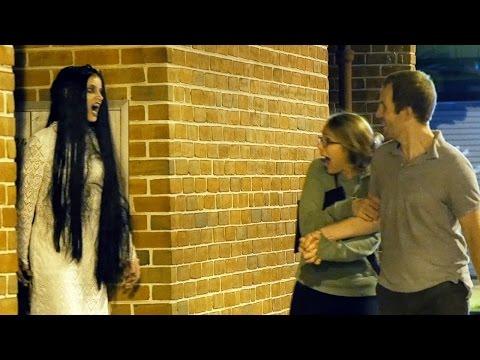 這個「女鬼惡作劇」本來要很可怕的,但比我想像中還要爆笑…