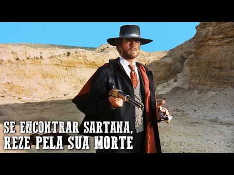 Se Encontrar Sartana, Reze pela sua Morte   FAROESTE DUBLADO   Filme de ação   Velho Oeste
