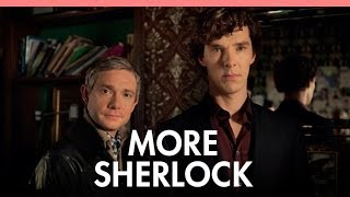Cumberbatch and Freeman on 'Sherlock' 3 and bromance