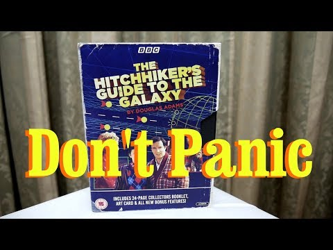 Don't Panic - The BBC Hitchhiker's Guide to the Galaxy is on Blu- Ray!!