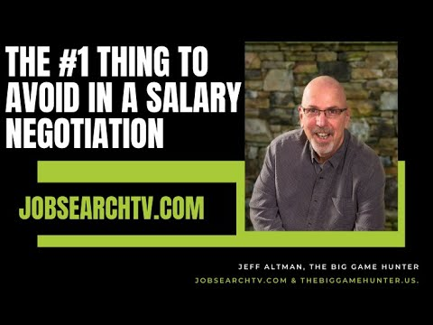 how to avoid question about salary