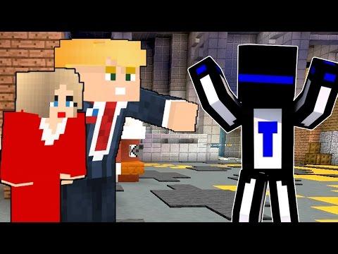 КАК Я ВСТРЕТИЛ ДОНАЛЬДА ТРАМПА И ХИЛЛАРИ КЛИНТОН?! - (Minecraft Murder Mystery)