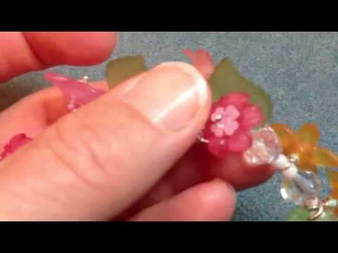 how to dye lucite flowers