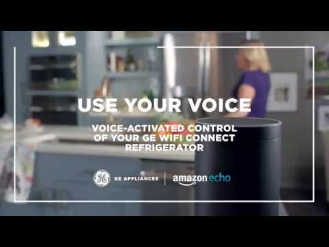 WiFi Connect Refrigerator with Amazon Alexa
