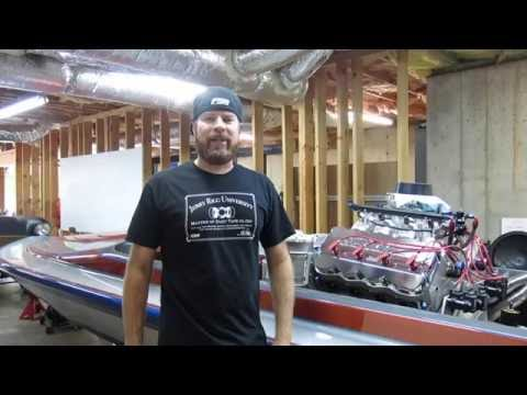 Finnegan's Garage Ep.11: Hemi-Powered Drag Boat Header Build Part 1