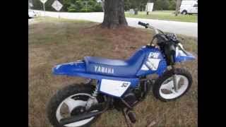 2. 2000 Yamaha PW50 stock #9-8825 demo ride & walk around @ Diamond Motor Sports
