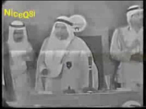 الشيخ عبدالله السالم الصباح ينصح اعضاء مجلس الامه